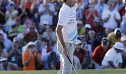 Bubba Watson during the second round of the Masters golf tournament Friday, April 12, 2013, in Augusta, Ga. (AP Photo/David J. Phillip)