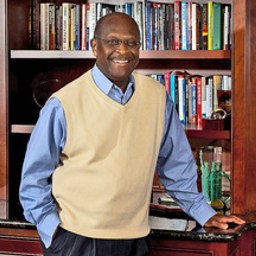 ** FILE ** Herman Cain.