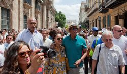 A recent trip to Cuba by Jay-Z and Beyonce has drawn scrutiny from Cuban-American lawmakers who don't believe the visit should have been approved. (Associated Press)