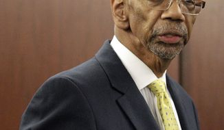 **FILE** U.S. Rep. Bobby Rush, Illinois Democrat (Associated Press)