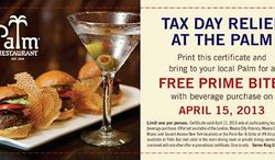 Tax Day is cause for celebration in the Nation's Capital.
