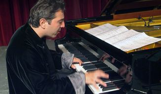 Internationally renowned Turkish pianist Fazil Say plays in concert in Istanbul in 2010. (AP Photo/Fazilsay.com)