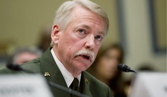 ** FILE ** Jonathan B. Jarvis, director of the National Park Service (Andrew Harnik/The Washington Times)