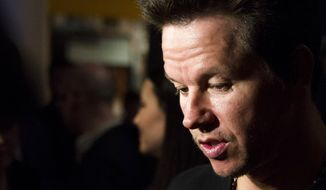 "Actor Mark Wahlberg attends a screening of ""Pain & Gain"" on Monday, April 15, 2013, in New York. (Charles Sykes/Invision/AP)"