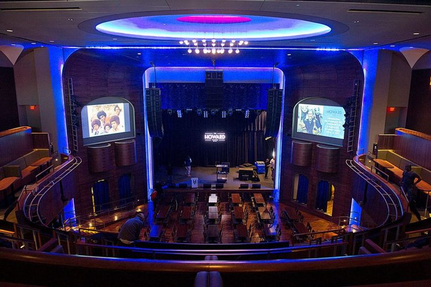 The newly renovated Howard Theatre opened a year ago bringing back memories of Duke Ellington, Marvin Gaye and Diana Ross who all played the club when it was a premier entertainment destination. Its amateur night gave young talents such as Ella Fitzgerald and Billy Eckstine their big breaks.