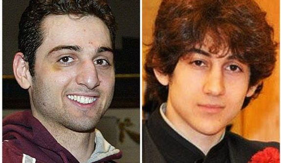 Tamerlan Tsarnaev (left) and his brother, Dzhokhar Tsarnaev