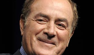NBC Sports announcer Al Michaels is pictured in Beverly Hills, Calif., in 2011. (AP Photo/Chris Pizzello)