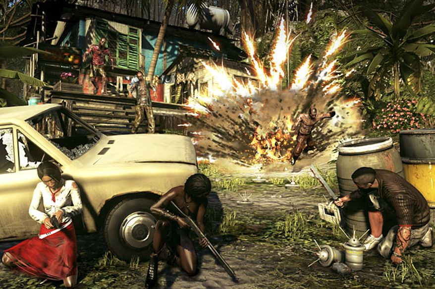 Survive a zombie apocalypse with a little help from friends in the video game Dead Island: Riptide.
