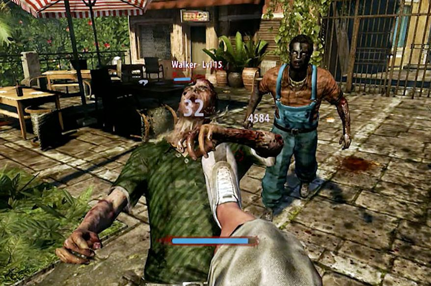 A swift kick will often take down a zombie in the video game Dead Island: Riptide.