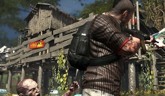 Logan Carter needs help in the video game Dead Island: Riptide.