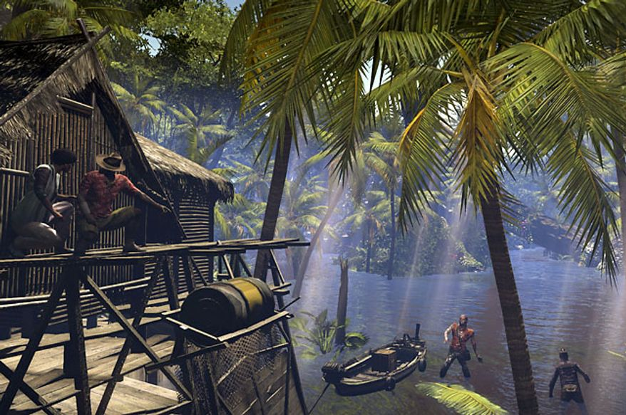 Zombies now lurk in the water in the video game Dead Island: Riptide.