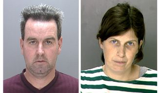 Herbert and Catherine Schaible, shown in undated photos, are serving 10 years' probation for the 2009 death of their toddler after they turned to prayer instead of a doctor. (AP Photo/Philadelphia Police Department)
