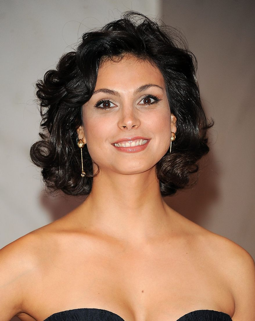 """Actress Morena Baccarin of the Showtime series """"Homeland"""" attends the White House Correspondents' Association Dinner at the Washington Hilton Hotel on Saturday, April 27, 2013, in Washington. (Evan Agostini/Invision/AP)"""