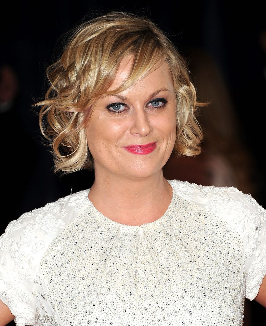 Actress Amy Poehler attends the White House Correspondents' Association Dinner at the Washington Hilton Hotel on Saturday, April 27, 2013, in Washington. (Evan Agostini/Invision/AP)