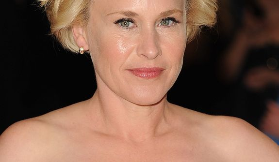Actress Patricia Arquette attends the White House Correspondents' Association Dinner at the Washington Hilton Hotel on Saturday, April 27, 2013, in Washington. (Evan Agostini/Invision/AP)