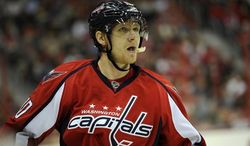 Martin Erat played 46 playoff games for the Nashville Predators before being traded to the Washington Capitals. (Associated Press)
