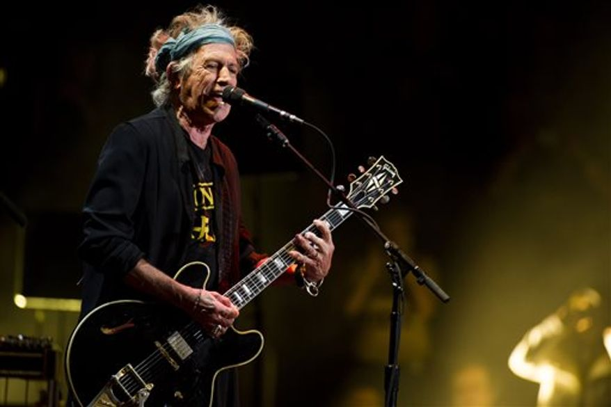 """Police have arrested a retired chemist from Connecticut after he allegedly admitted he was planning to <strong><a href=""""http://www.washingtontimes.com/news/2013/oct/11/rolling-stones-keith-richards-named-target-bizarre/"""">blow up Keith Richards</a></strong>, the guitarist for the Rolling Stones, and apparently had a stockpile of explosives in his home. (Photo by Charles Sykes/Invision/AP, file)"""