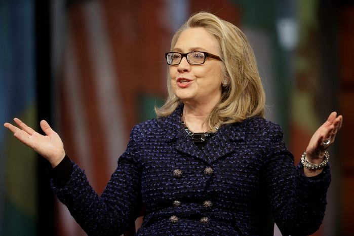"""""""It doesn't take a rocket scientist to recognize that [Emily's List] wants Hillary Clinton to be the next president,"""" says GOP consultant Ron Bonjean. The group's """"Madam President"""" effort aims to put the first woman in the White House."""