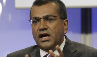 MSNBC's Martin Bashir altered the Lord's Prayer on his show to mock the NRA on Thursday, May 2, 2013. (Associated Press)