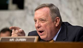 Sen. Richard J. Durbin, Illinois Democrat (Associated Press)