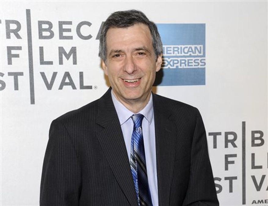 Journalist Howard Kurtz, pictured at the 2012 Tribeca Film Festival in New York, has left online news and the commentary site The Daily Beast, a day after the website retracted one of his blog posts about the coming out of NBA player Jason Collins. (AP Photo/Evan Agostini)