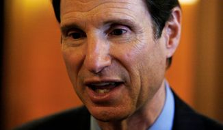 """Sen. Ron Wyden, Oregon Democrat, noted that helium is """"a critical resource for a number of important sectors of the American economy,"""" including semiconductors and fiber optics.  (Associated Press)"""