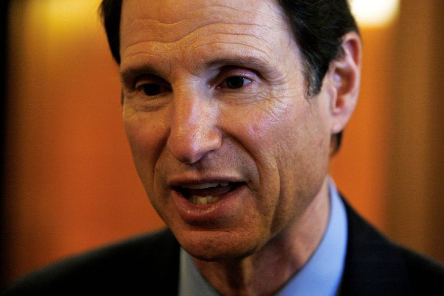 "Sen. Ron Wyden, Oregon Democrat, noted that helium is ""a critical resource for a number of important sectors of the American economy,"" including semiconductors and fiber optics.  (Associated Press)"
