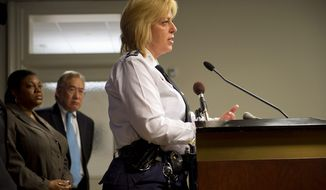 D.C. police Chief Cathy L. Lanier (The Washington Times)