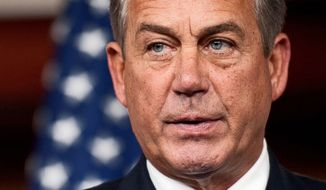 ** FILE **  House Speaker John A. Boehner, R-Ohio (Associated Press)