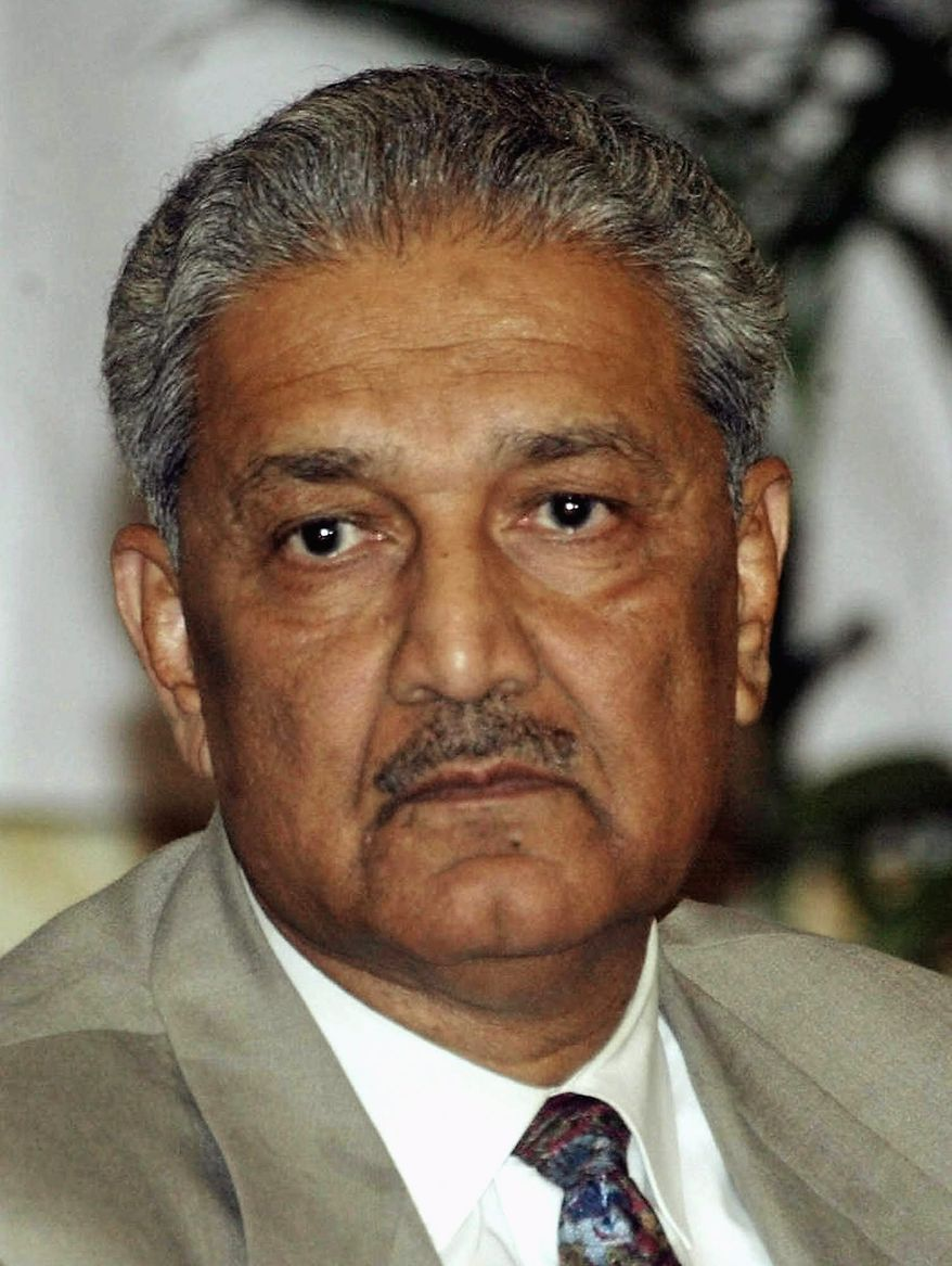**FILE** Abdul Qadeer Khan (Associated Press)