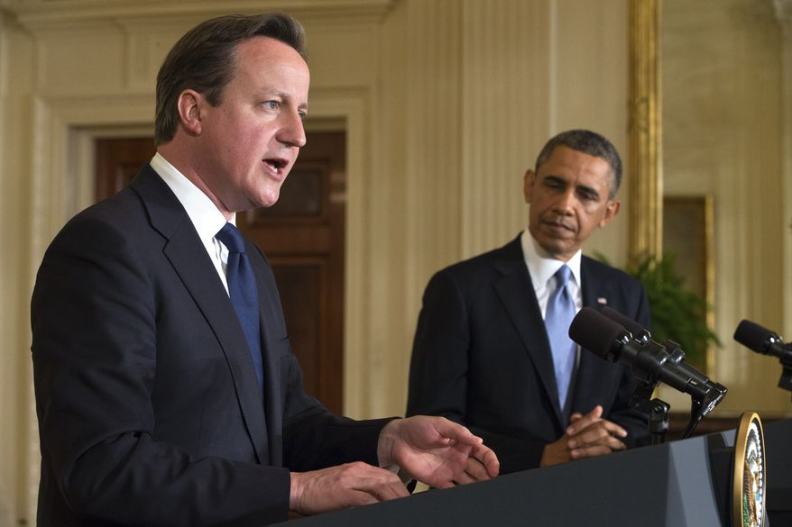British PM lectures Obama: 'Barack, biggest problem we have is Islamist extremism'…