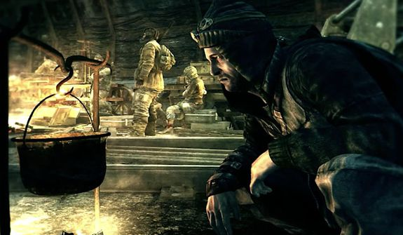 It's a bleak life for many who survived the nuclear war in the first person shooter Metro: Last Light.
