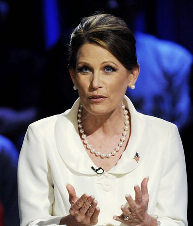 """""""History is filled with stories of political comebacks ... and [Rep. Michele Bachmann, Minnesota Republican] has the capability to rehab her image and change the focus to her work instead of these other issues,"""" said Keith Keith Appell, a GOP consultant."""