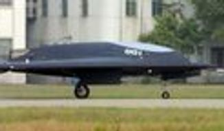 "China's combat drone is described as ""a stark example of China's broad investment in advanced military technologies."""