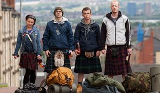 """The Angels' Share"" follows a gang of Glaswegian castoffs as they try to pull off a whiskey heist. Ken Loach directs the often breezy comedy."
