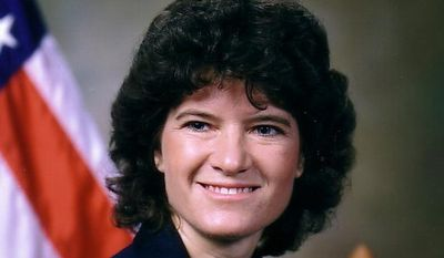 **FILE** This undated photo released by NASA shows astronaut Sally Ride, the first American woman in space. (Associated Press/NASA)