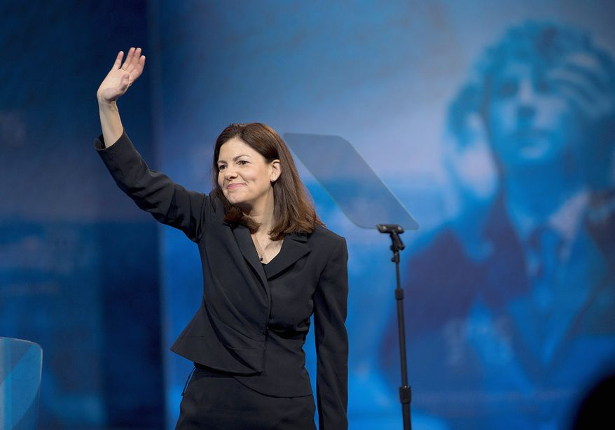 Gun control advocates have funded an ad campaign that criticizes Sen. Kelly Ayotte's vote on a gun control measure. She is facing re-election in 2016. (Associated Press)