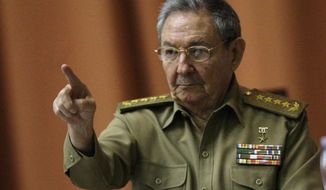 ** FILE ** Cuban President Raul Castro (Associated Press)