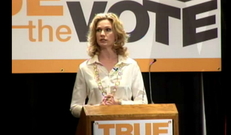 True the Vote President Catherine Engelbrecht (Screen shot from True the Vote's Vimeo page)