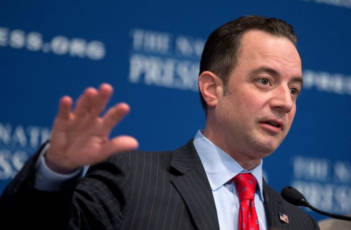 Republican National Committee Chairman Reince Priebus (Associated Press)