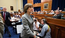 Columnist Ernest Istook says Congress, on its own, has clear authority to arrest and jail former IRS official Lois Lerner until she testifies. (Associated Press)