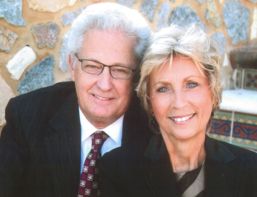 ** FILE ** David and Barbara Green, co-founders of Hobby Lobby Stores Inc., are asking a federal appeals court in Denver on Thursday, May 23, 2013, for an exemption from part of the federal health care law that requires the company to offer employees health coverage that includes access to the morning-after pill. The Oklahoma City-based arts-and-crafts chain argues that businesses, and not just religious groups, should be allowed to seek exemptions from that part of the health law if it violates their religious beliefs. (AP Photo/Hobby Lobby Stores Inc.)