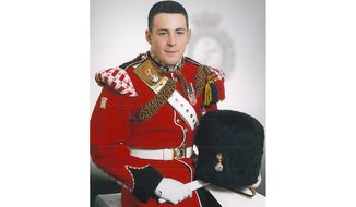 British Ministry of Defence announce that the soldier killed in the machete attack in Woolwich, South East London, is believed to be Drummer Lee Rigby of 2nd Battalion The Royal Regiment of Fusiliers (Credit: Ministry of Defence)