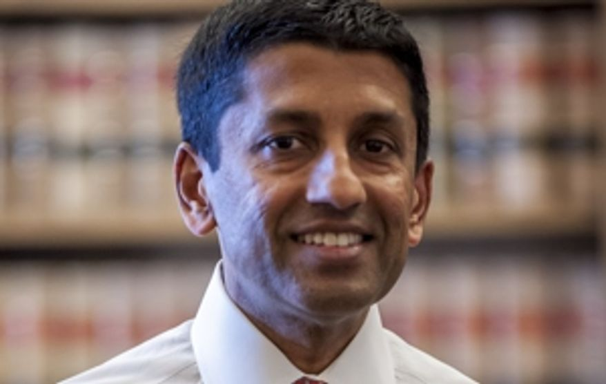 Judge Sri Srinivasan. (Image: U.S. Justice Department)