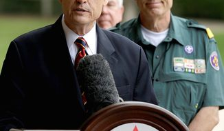 BSA Chief Scout Executive Wayne Brock (Associated Press)