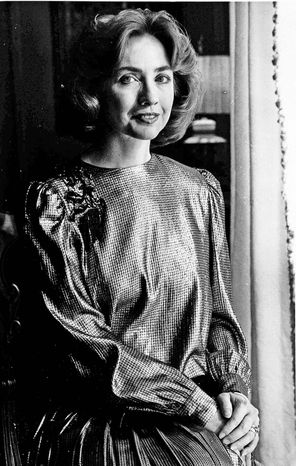 A biopic about Hillary Rodham Clinton is in the works about her life before she became first lady of Arkansas (pictured), senator, presidential hopeful or secretary of state.