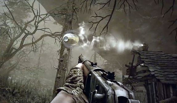 Use the magical Sense of Death power to avoid bullets in the first person shooter Call of Juarez: Gunslinger.