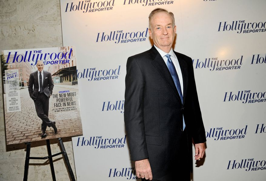 """Fox News host Bill O'Reilly will collaborate with National Geographic to produce """"Killing Kennedy,"""" a film project based on his best-selling book of the same name. Rob Lowe, formerly of """"The West Wing,"""" is set to play John F. Kennedy. (Associated Press)"""