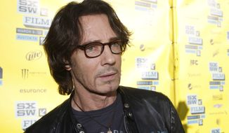 "Actor-singer Rick Springfield attends a screening of his movie ""Sound City"" during the SXSW Film and Music Festival in Austin, Texas, on Wednesday, March 13, 2013. (Jack Plunkett/Invision/AP)"