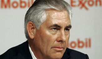 ** FILE ** Rex W. Tillerson is chairman and chief executive officer of Exxon Mobil Corp. (AP Photo/Mike Stone)